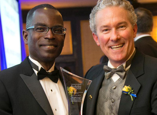 Patrick Awuah and Rich Lyons, Dean of the Berkeley Haas School of Business