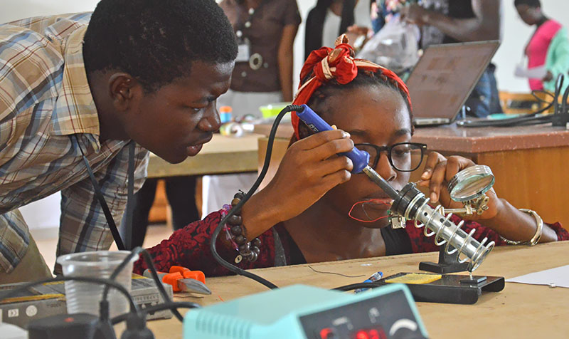 Women in Engineering at Ashesi