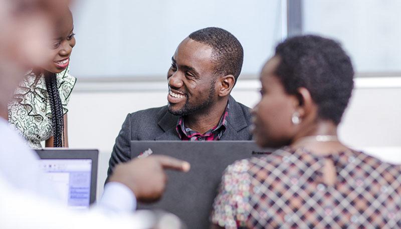 Ashesi alumnus, Godson Quaye '09