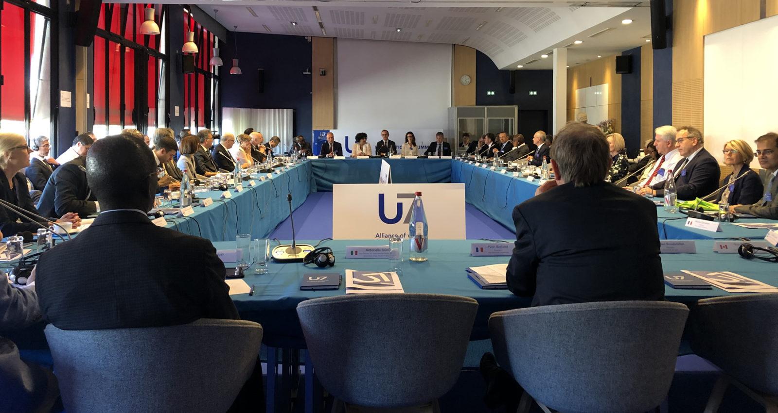 Ashesi represents Ghana at U7+ Alliance